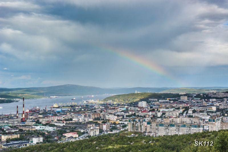 Современный город - герой Мурманск