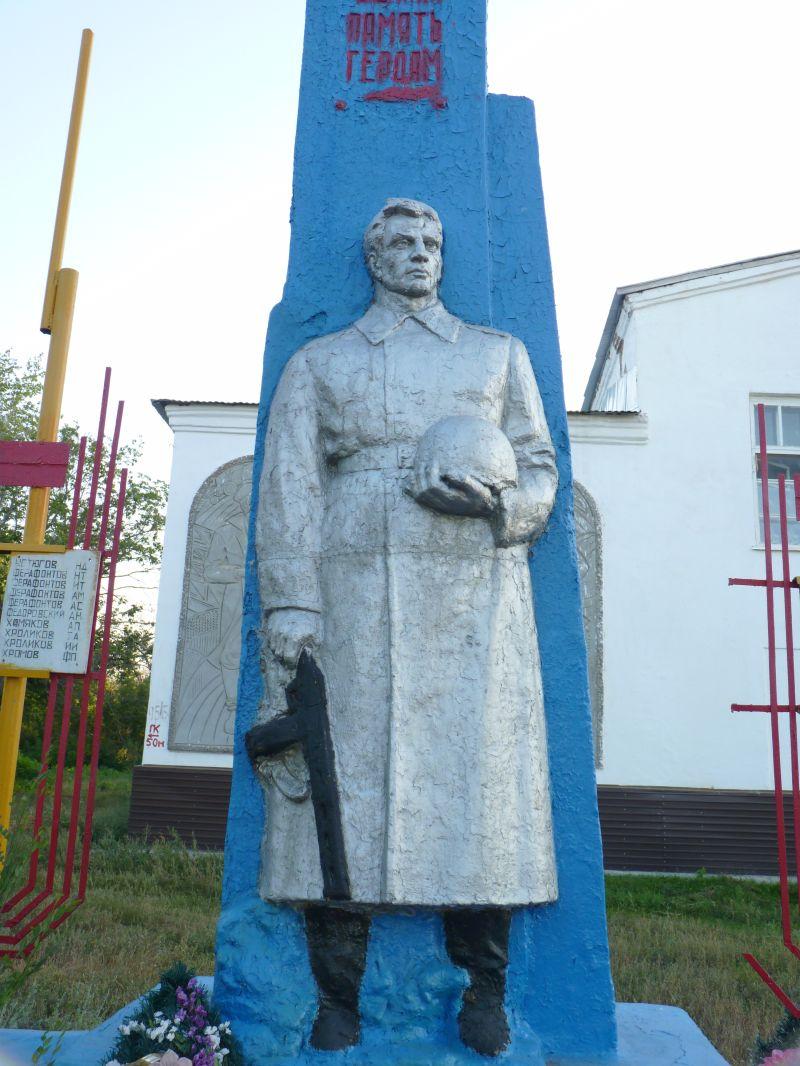 Памятник воинам-бурдыгинцам, павшим в Великой Отечественной войне