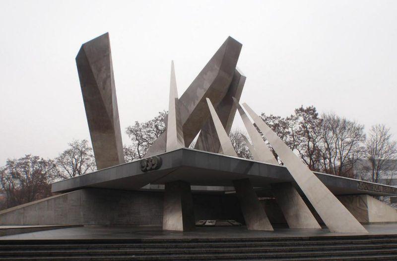 г. Познань. Мемориал в память жертв Второй мировой войны.