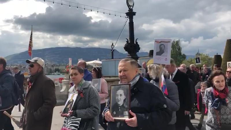 Полк в Женеве. riafan.ru