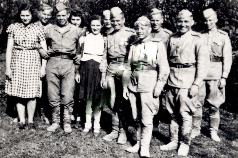 Группа разведчиков гв. капитана Огурцова И. П.