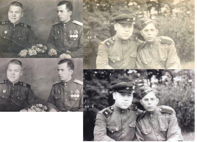 Шайбинков (слева)