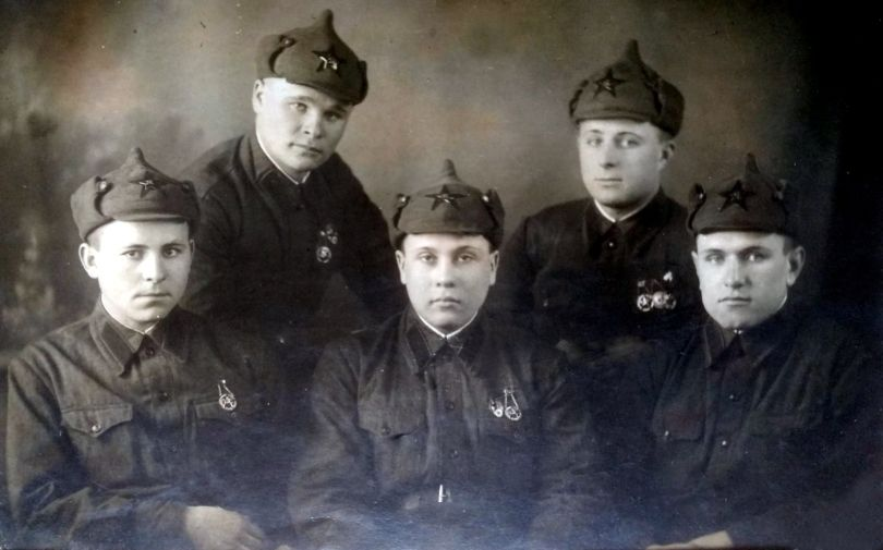 Кагукин, Жавранков, Вакушенко, Евстигнеев,Кириллов