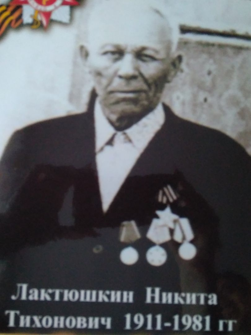Лактюшкин Никита Тихонович