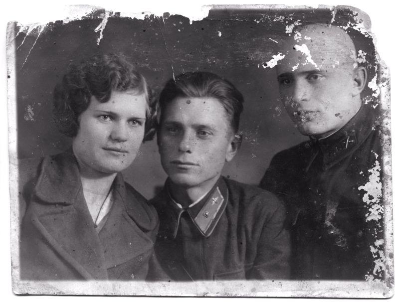 Настя, Александр и Сергей(?)