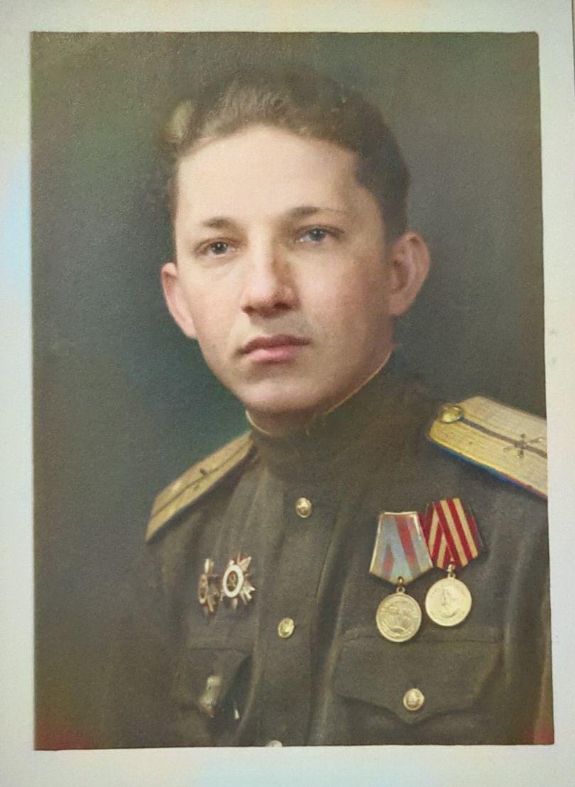 Лейтенант Синютин