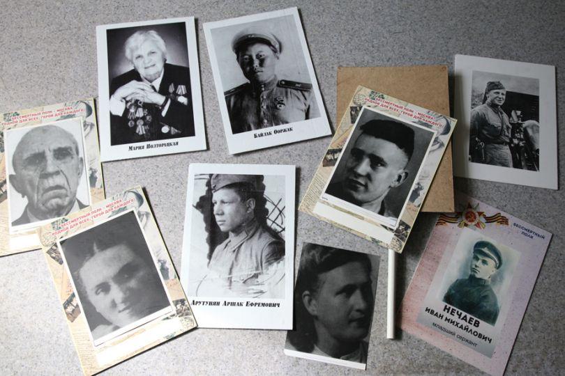 История 9 портретов, оставленных на улице от волонтеров «Единой России»